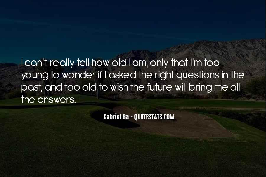 Quotes About Youth And The Future #606366