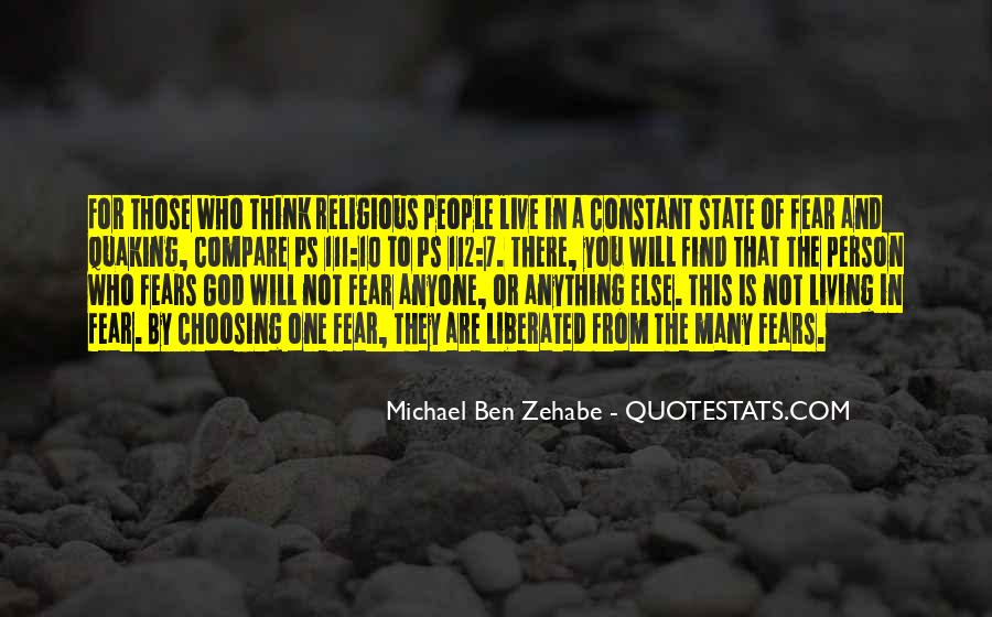Quotes About Zehabe #1466415
