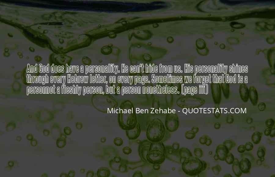 Quotes About Zehabe #943042