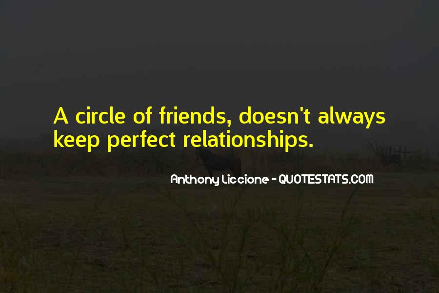 A Perfect Circle Quotes #1765886