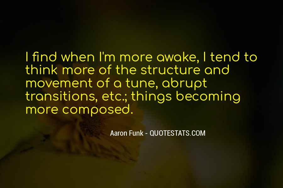 Aaron Funk Quotes #1056414