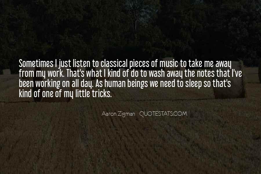 Aaron Zigman Quotes #146595