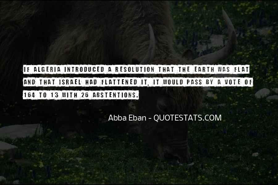 Abba Eban Quotes #1048220
