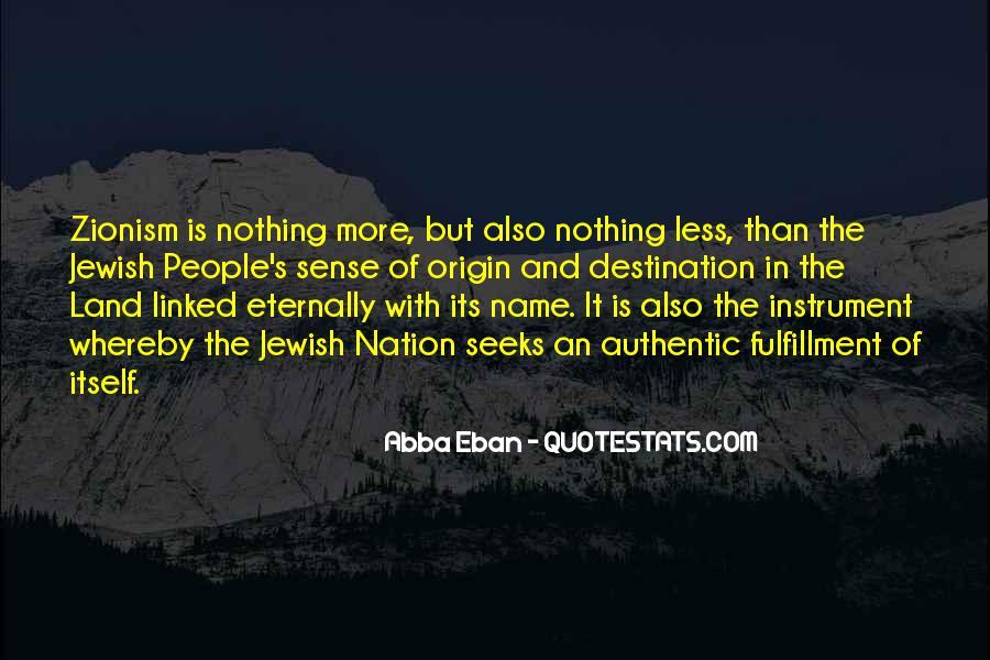 Abba Eban Quotes #1275633