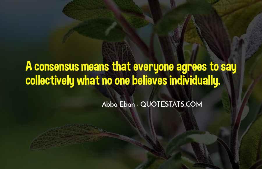 Abba Eban Quotes #1877775