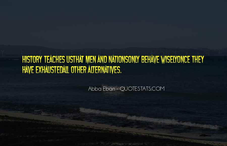 Abba Eban Quotes #353667