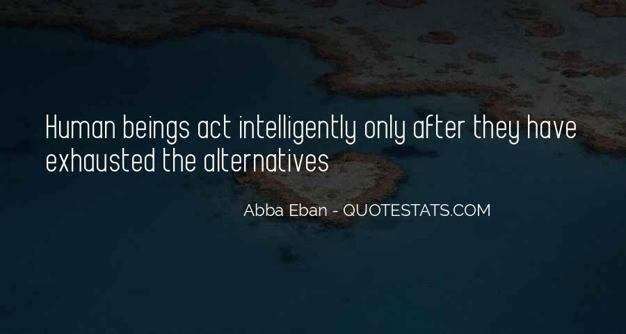 Abba Eban Quotes #555826