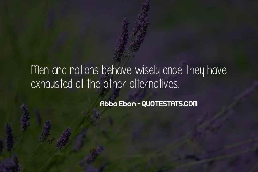 Abba Eban Quotes #575046