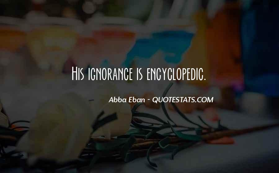 Abba Eban Quotes #922600