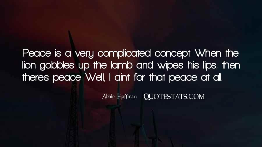 Abbie Hoffman Quotes #1307446