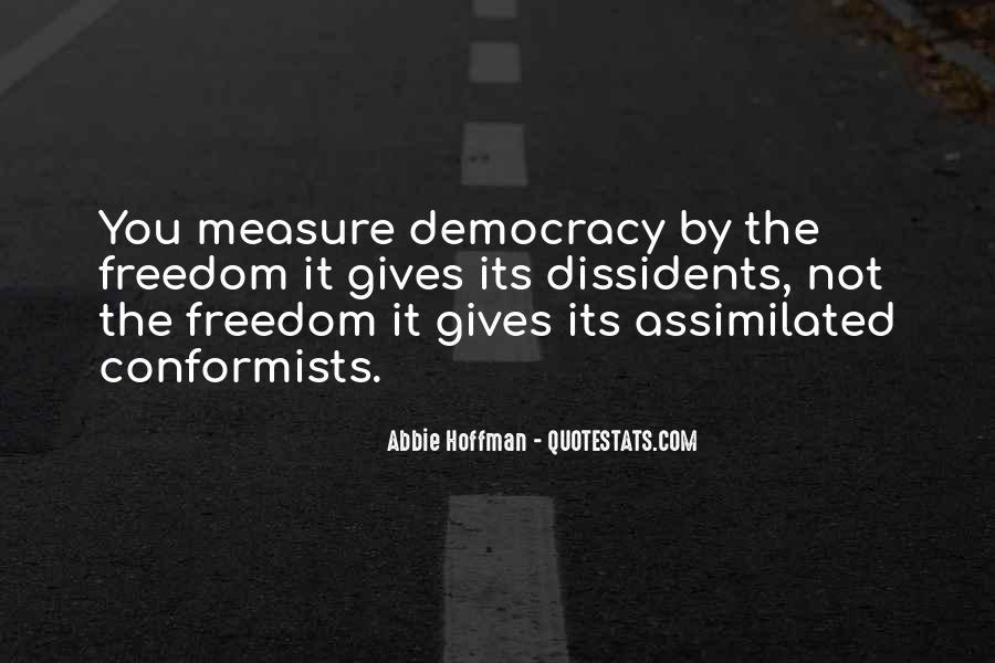 Abbie Hoffman Quotes #1656558