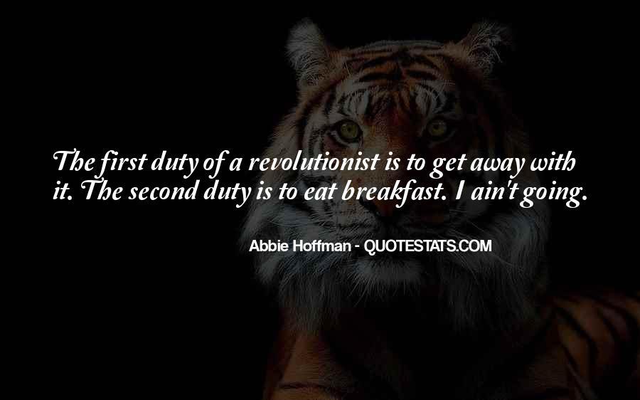 Abbie Hoffman Quotes #1709636