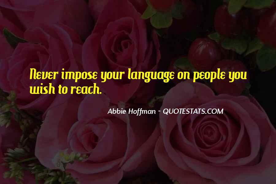 Abbie Hoffman Quotes #208543