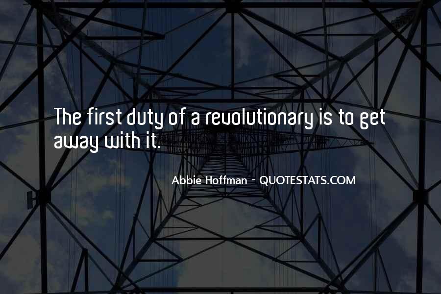 Abbie Hoffman Quotes #249720