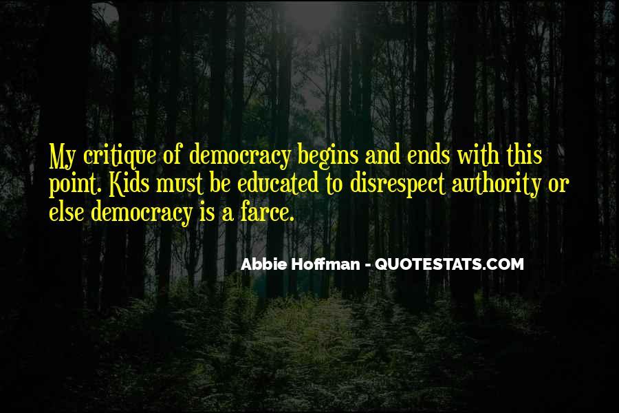 Abbie Hoffman Quotes #478501