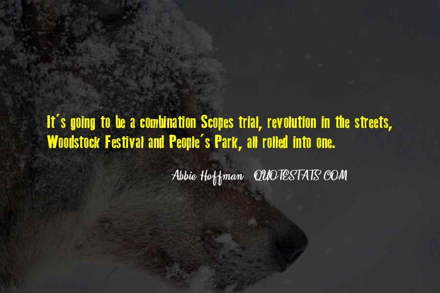 Abbie Hoffman Quotes #635131