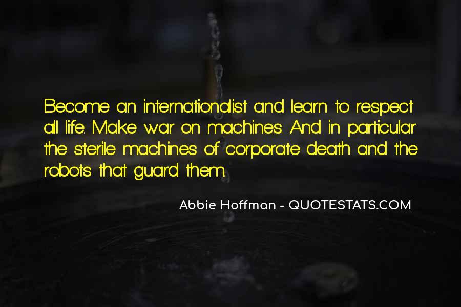 Abbie Hoffman Quotes #805611
