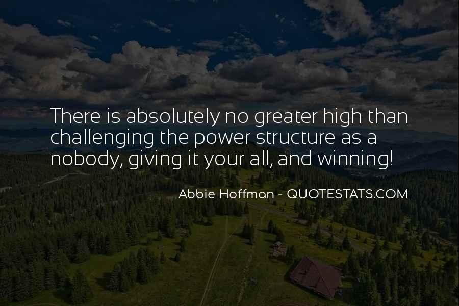 Abbie Hoffman Quotes #916660