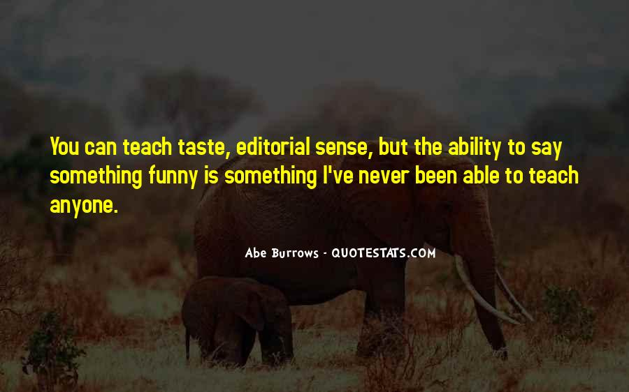Abe Burrows Quotes #32542