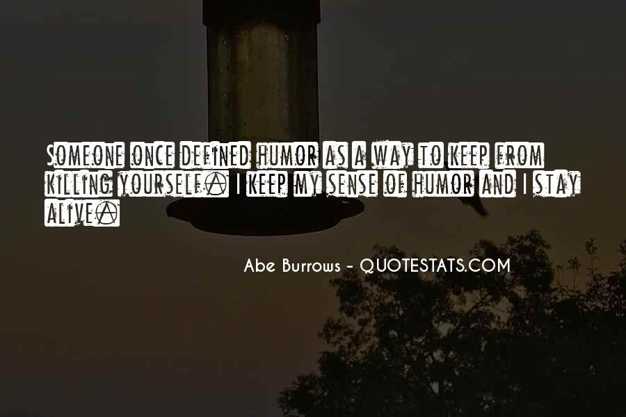 Abe Burrows Quotes #688875