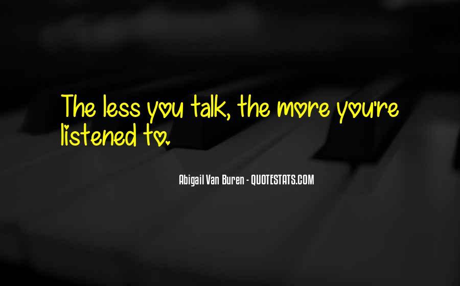 Abigail Van Buren Quotes #1040935