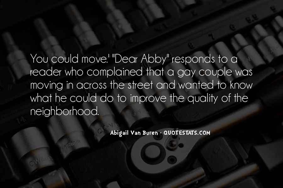 Abigail Van Buren Quotes #1047644