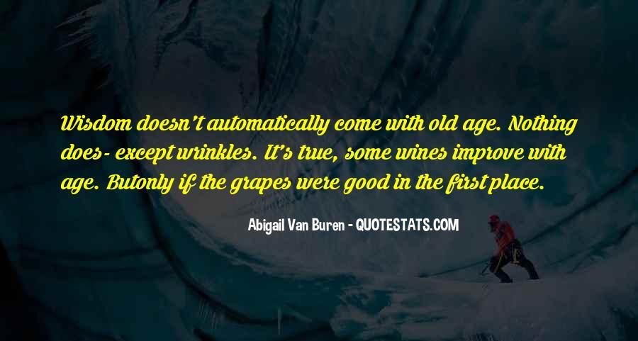 Abigail Van Buren Quotes #1064055