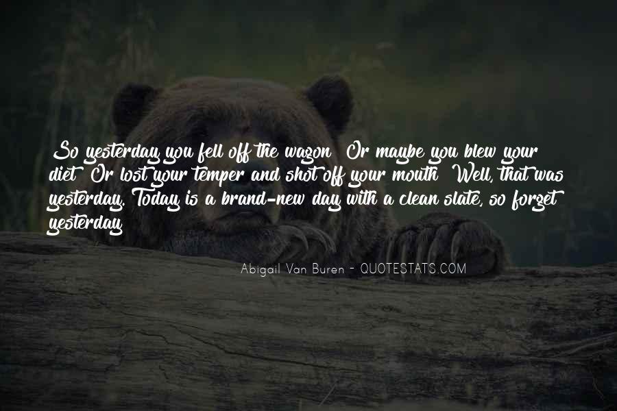 Abigail Van Buren Quotes #1828734