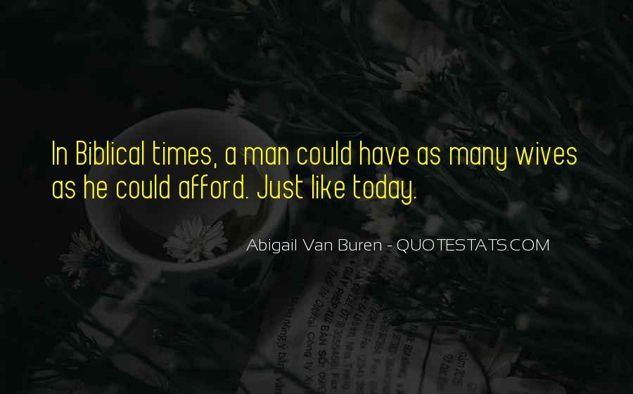 Abigail Van Buren Quotes #451277