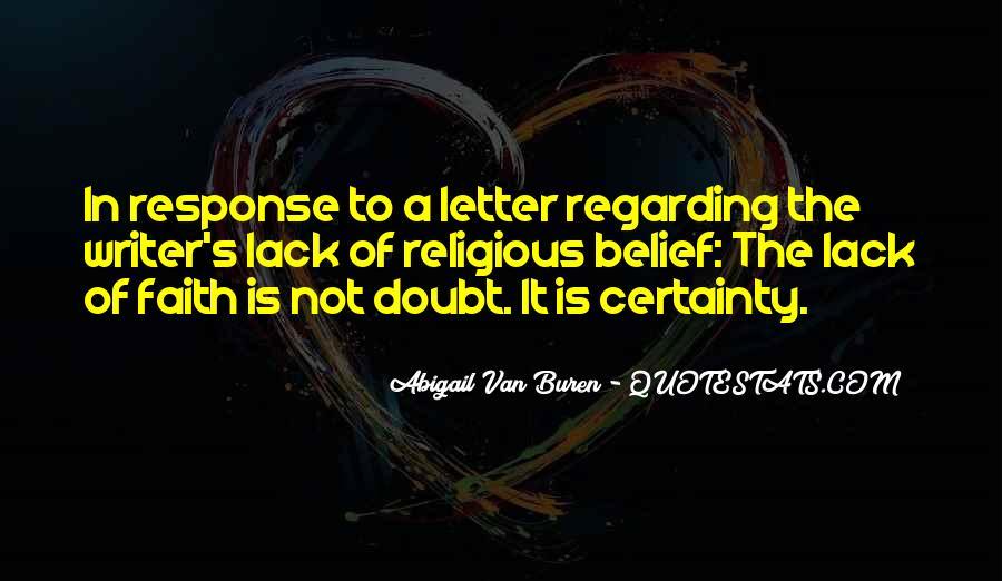 Abigail Van Buren Quotes #813241