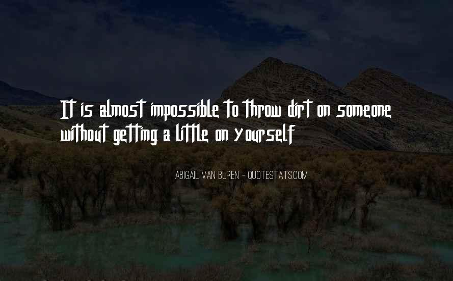 Abigail Van Buren Quotes #840650