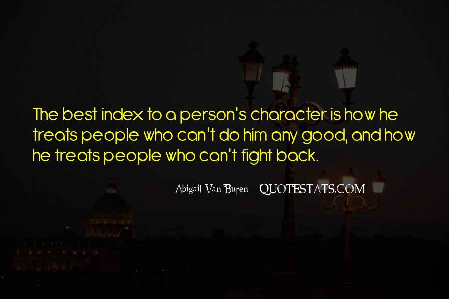 Abigail Van Buren Quotes #877333