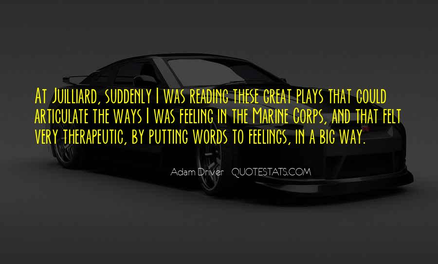 Adam Driver Quotes #1648971
