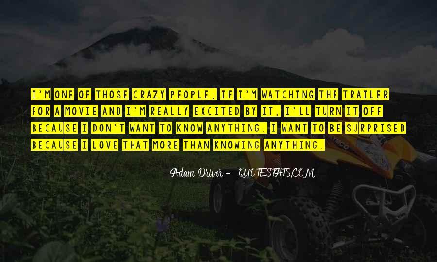 Adam Driver Quotes #280461