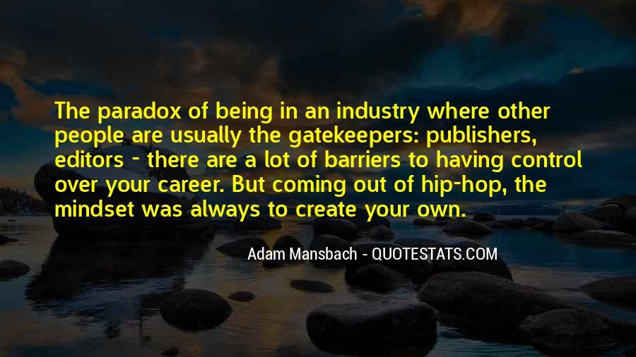 Adam Mansbach Quotes #1036445