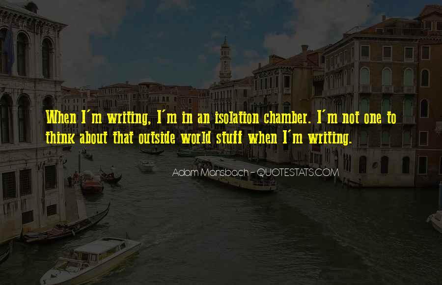 Adam Mansbach Quotes #1141763