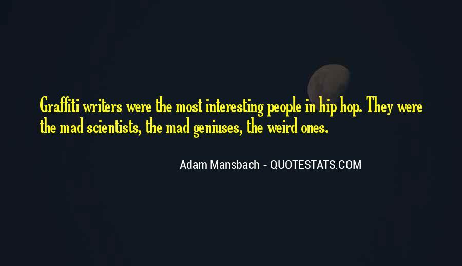 Adam Mansbach Quotes #1146891