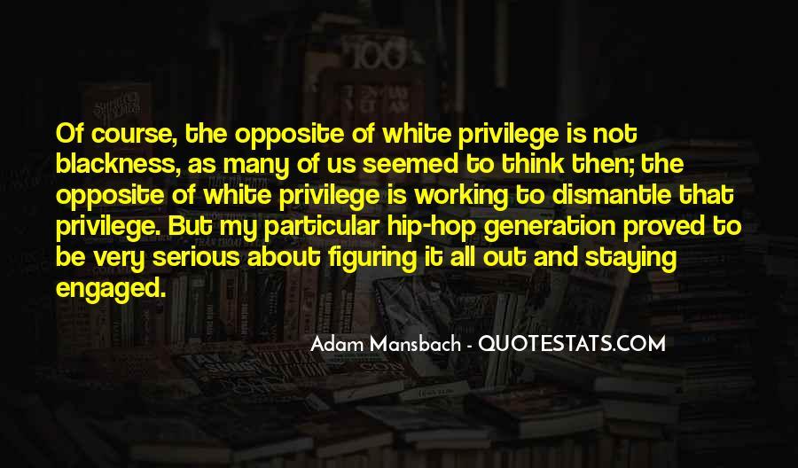 Adam Mansbach Quotes #1370735