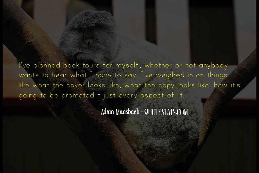 Adam Mansbach Quotes #1496903