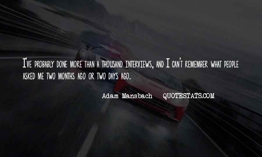 Adam Mansbach Quotes #1878204