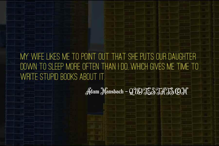 Adam Mansbach Quotes #310713