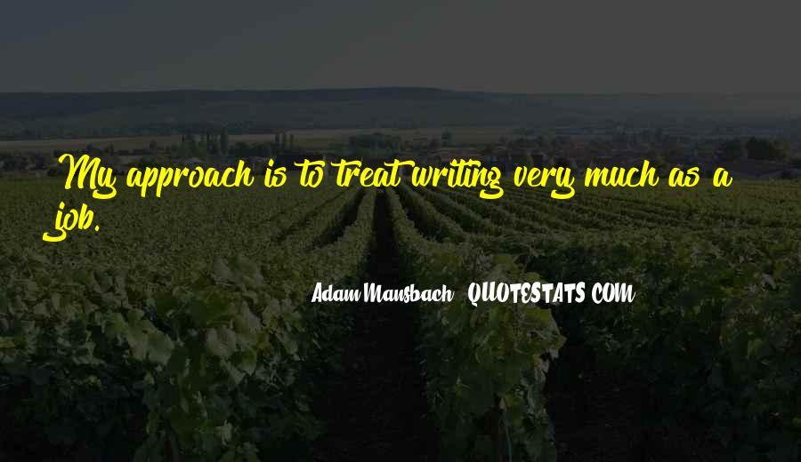 Adam Mansbach Quotes #399583