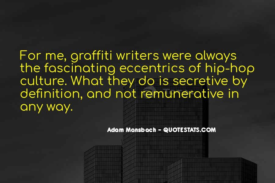Adam Mansbach Quotes #466185