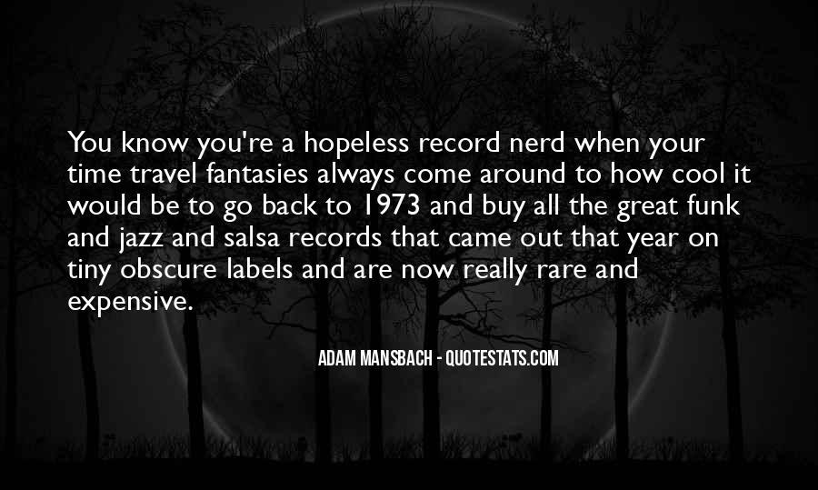 Adam Mansbach Quotes #57054