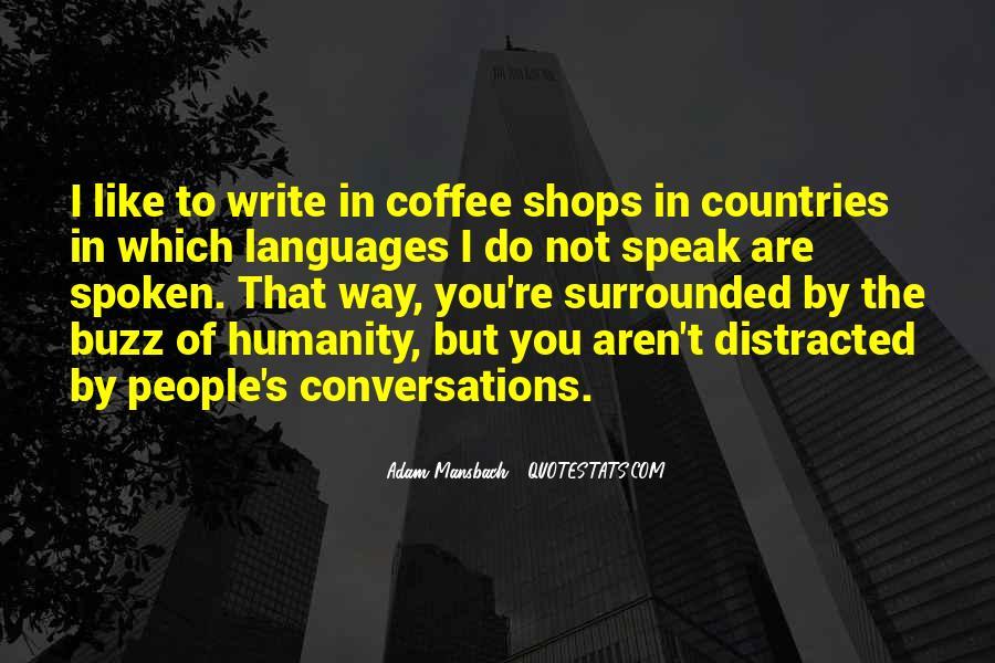 Adam Mansbach Quotes #671381