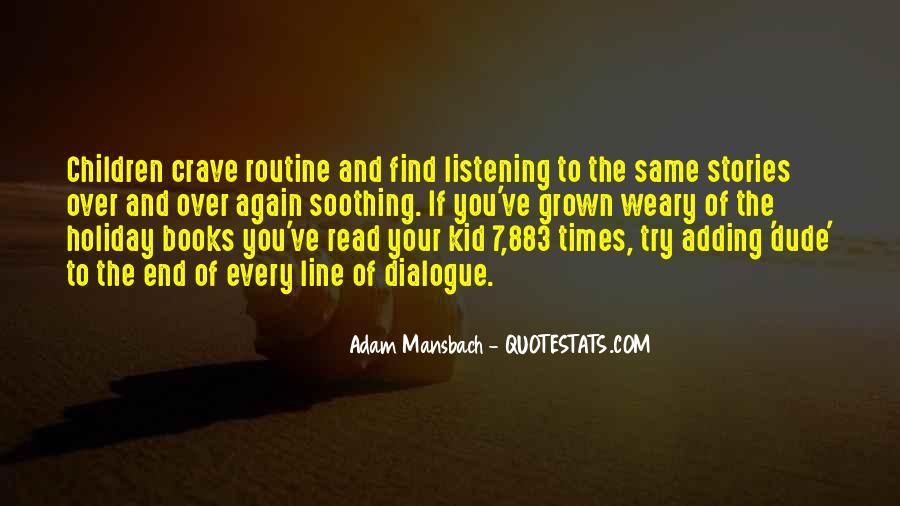 Adam Mansbach Quotes #786941