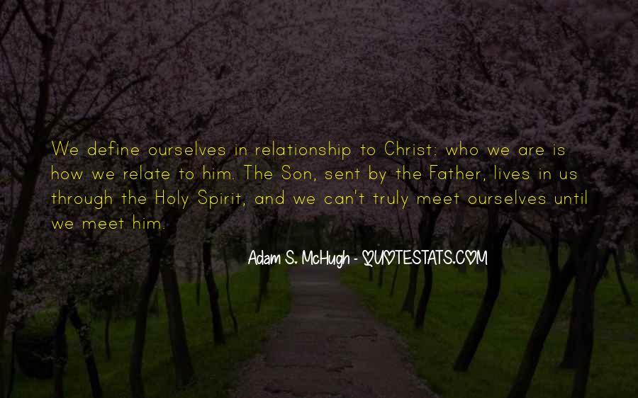 Adam S Mchugh Quotes #1335218