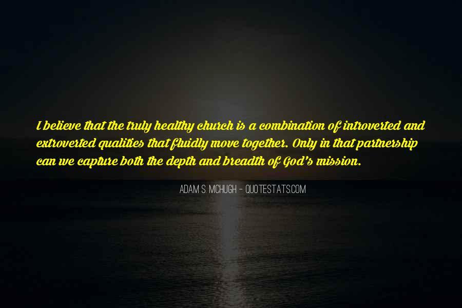 Adam S Mchugh Quotes #1407192