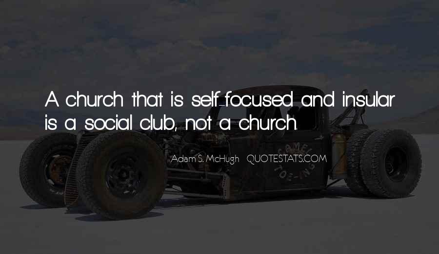 Adam S Mchugh Quotes #1878559