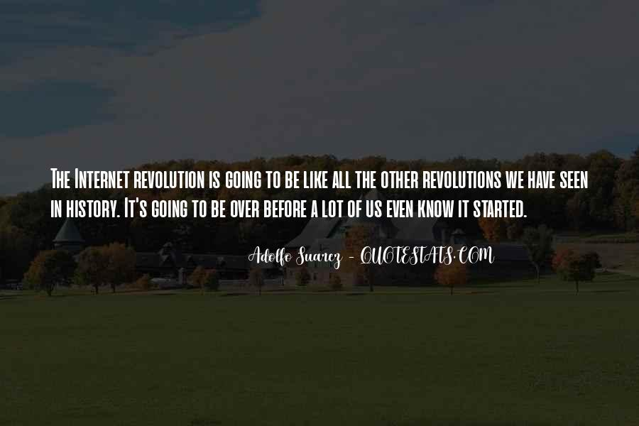 Adolfo Suarez Quotes #677240